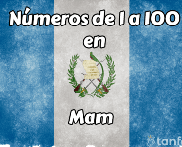 numeros de 1 a 100 en mam