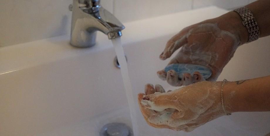 Cómo lavarse las manos correctamente.