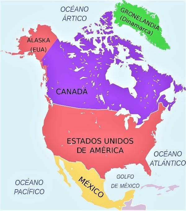 Lista de países y capitales de América