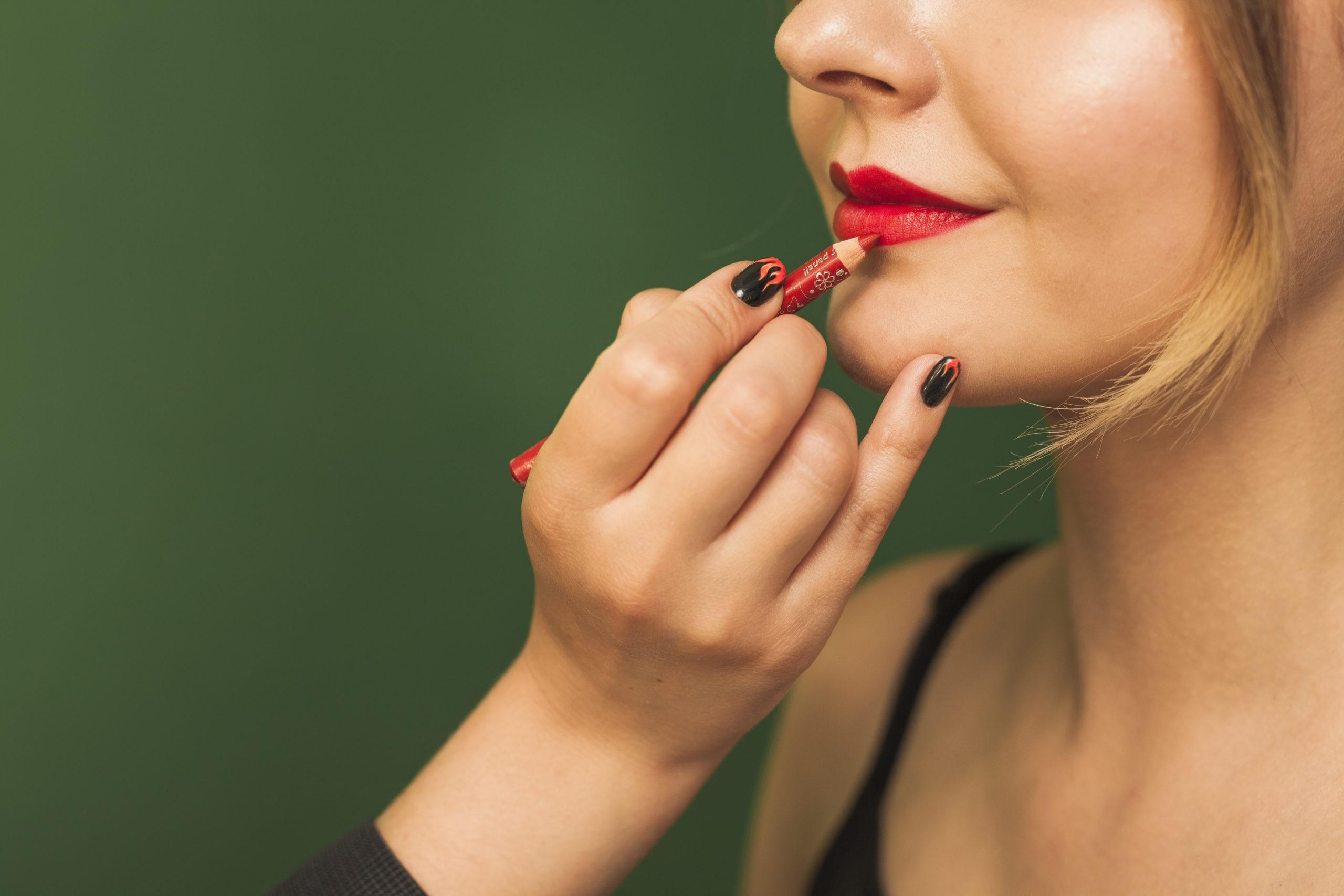 maquillar labios