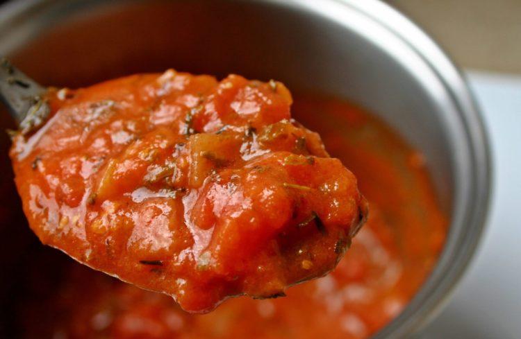 salsa de tomate para lasaña