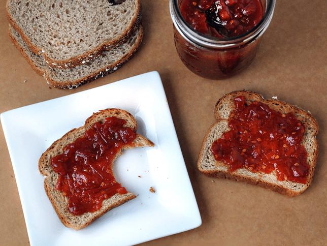 Cómo hacer mermelada de tomate casera