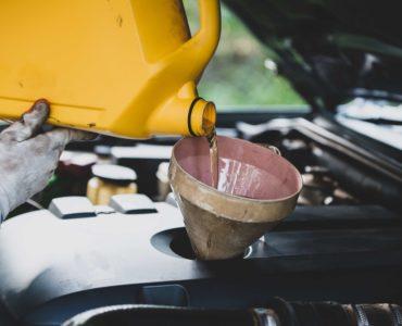 aceite de coche
